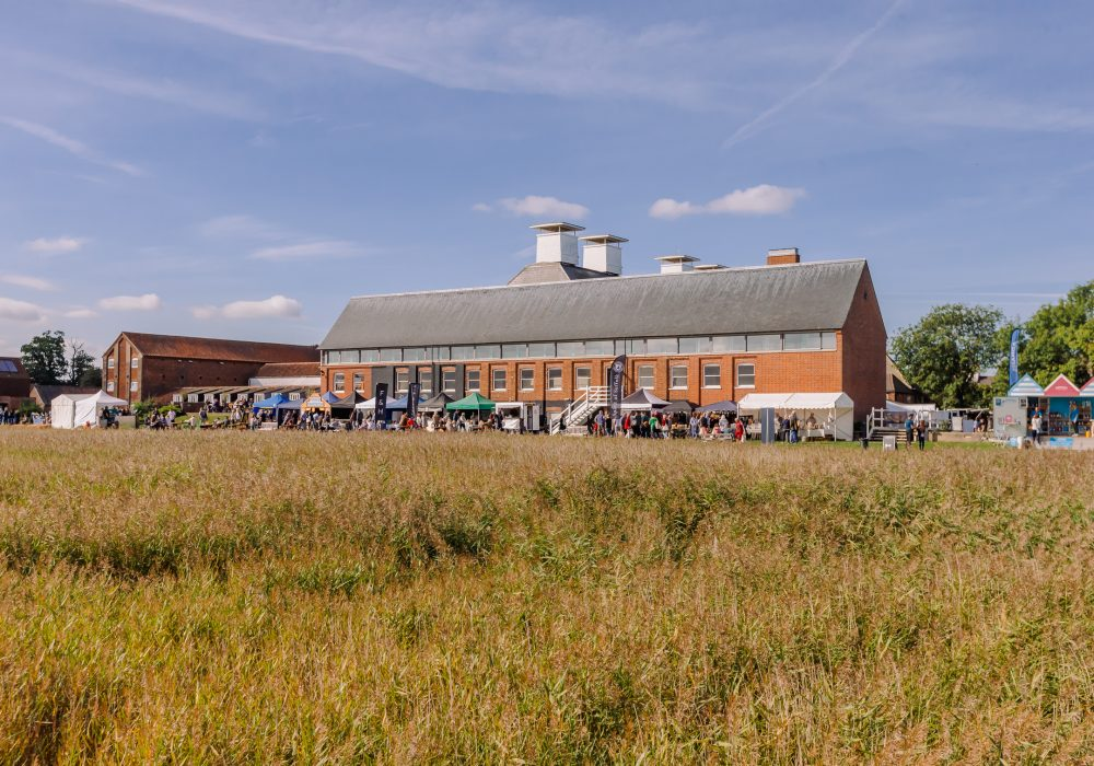 Image of the festival at Snape Maltings